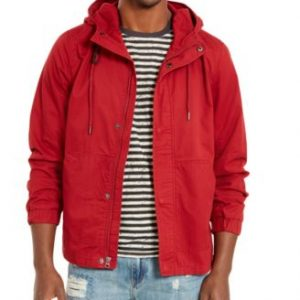 AMERICAN RAG HOODED JACKET