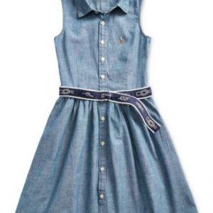 RL CHILDRENSWEAR/POLO RALPH LAUREN DRESS